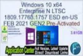 Windows 10 X64 Pro 21H1 MULTi-25 MARCH 2021 {Gen2}